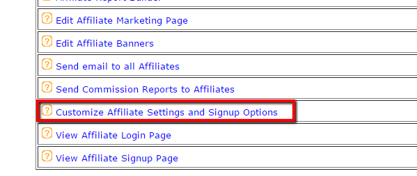 Automatically Add Affiliates to a MailChimp List