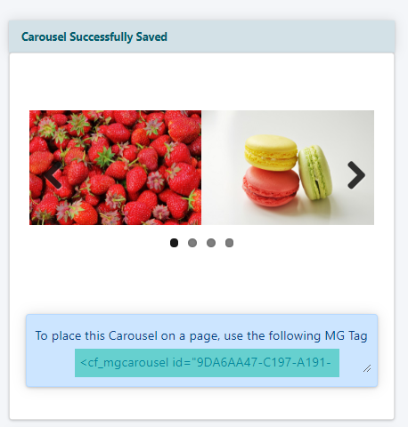 How to Add an Image Carousel to a Page