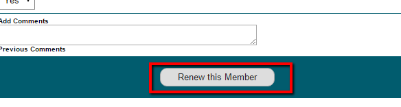 How to Manually Renew a Member from the Control Panel