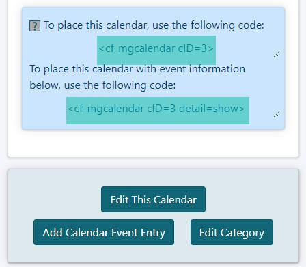 How to Add an Event Calendar