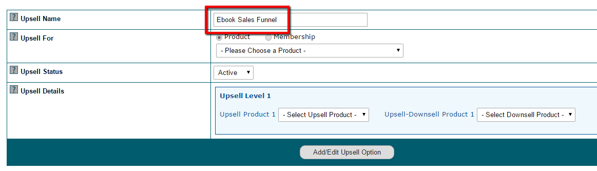 How to Create an Upsell Product or Membership