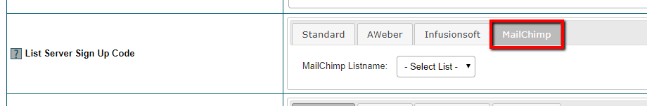 Connect Mailchimp to Member Plans