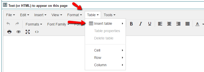 Using the MemberGate HTML Table Builder to quickly build