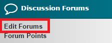 Edit Forum