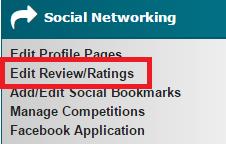 Edit Review Ratings