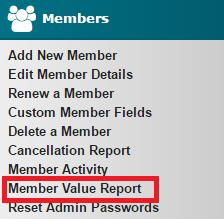 Member Value Report